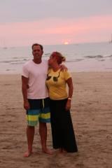 TJ and Cinde, Hotel Villa Amarilla